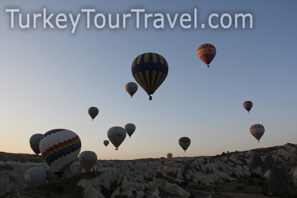 Cappadocia Hot Air Balloon Flights | Turkey Tour Travel